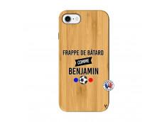 Coque iPhone 7/8 Frappe De Batard Comme Benjamin Bois Bamboo