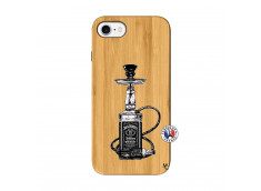 Coque iPhone 7/8 Jack Hookah Bois Bamboo