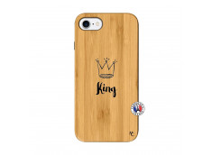 Coque iPhone 7/8 King Bois Bamboo