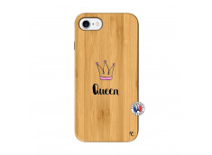 Coque iPhone 7/8 Queen Bois Bamboo