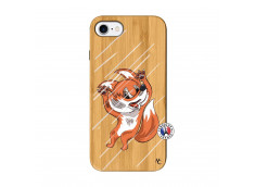 Coque iPhone 7/8 Fox Impact Bois Bamboo