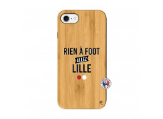 Coque iPhone 7/8 Rien A Foot Allez Lille Bois Bamboo