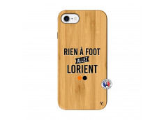Coque iPhone 7/8 Rien A Foot Allez Lorient Bois Bamboo