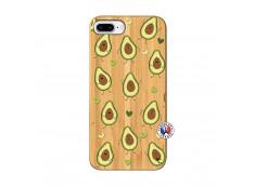 Coque iPhone 7Plus/8Plus Avocats Bois Bamboo