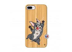 Coque iPhone 7Plus/8Plus Dog Impact Bois Bamboo