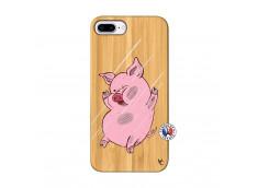 Coque iPhone 7Plus/8Plus Pig Impact Bois Bamboo
