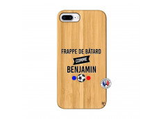 Coque iPhone 7Plus/8Plus Frappe De Batard Comme Benjamin Bois Bamboo