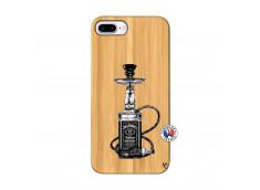 Coque iPhone 7Plus/8Plus Jack Hookah Bois Bamboo