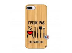 Coque Bois iPhone 7Plus/8Plus Je Peux Pas J Ai Barbecue