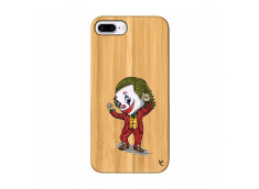 Coque iPhone 7Plus/8Plus Joker Dance Bois Bamboo