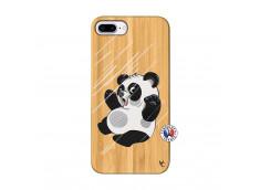 Coque iPhone 7Plus/8Plus Panda Impact Bois Bamboo