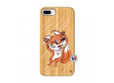 Coque iPhone 7Plus/8Plus Fox Impact Bois Bamboo