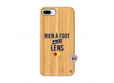 Coque iPhone 7Plus/8Plus Rien A Foot Allez Lens Bois Bamboo