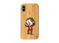 Coque iPhone X/XS Joker Dance Bois Bamboo