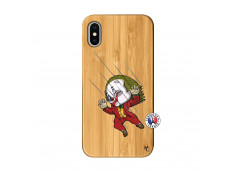 Coque iPhone X/XS Joker Impact Bois Bamboo