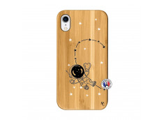 Coque iPhone XR Astro Girl Bois Bamboo