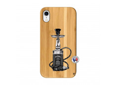 Coque iPhone XR Jack Hookah Bois Bamboo