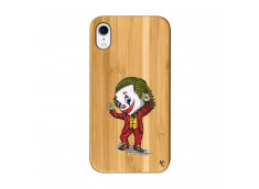 Coque iPhone XR Joker Dance Bois Bamboo