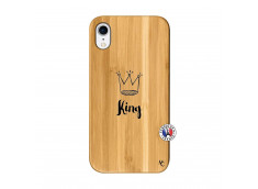 Coque iPhone XR King Bois Bamboo