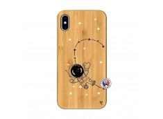 Coque iPhone XS MAX Astro Girl Bois Bamboo