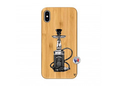 Coque iPhone XS MAX Jack Hookah Bois Bamboo