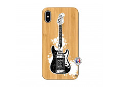 Coque iPhone XS MAX Jack Let's Play Together Bois Bamboo