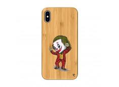 Coque iPhone XS MAX Joker Dance Bois Bamboo