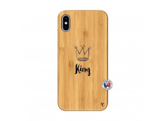Coque iPhone XS MAX King Bois Bamboo