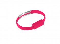 Câble Micro USB Bracelet-Rose