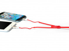 Câble Lightning/Micro USB Zip-Rouge