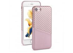 Coque iPhone 7 / iPhone 8 Carbon Fiber-Rose Gold