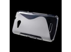 Coque Sony Xperia E4G Silicone Grip-Translucide
