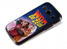 Coque Samsung Galaxy Ace 4 Retour Vers le Futur-Nom de Zeus