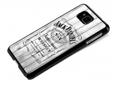 Coque Samsung Galaxy Alpha White Old Jack
