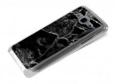 Coque Samsung Galaxy J5 Effet Marbre- Noir