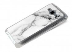 Coque Samsung Galaxy J5 Effet Marbre- Blanc
