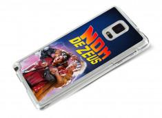Coque Samsung Galaxy Note 4 Retour Vers le Futur-Nom de Zeus