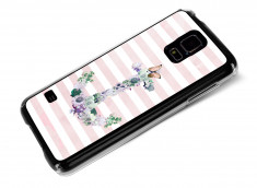 Coque Samsung Galaxy S5 Flowers Anchor