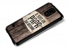 Coque Samsung Galaxy S5 Papa qui déchire