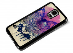 Coque Samsung Galaxy S5 Fox Face
