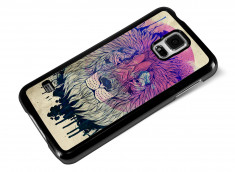 Coque Samsung Galaxy S5 Lion Face