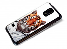 Coque Samsung Galaxy S5 Smart Zoo- Tigre