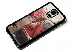 Coque Samsung Galaxy S5 Vintage Case - Beetle Spirit