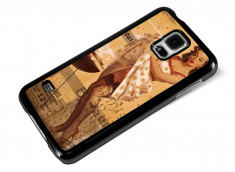 Coque Samsung Galaxy S5 Vintage-Hot Barbecue