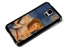 Coque Samsung Galaxy S5 Vintage Case -Hot Letter Pin Up