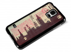 Coque Samsung Galaxy S5 Vintage-Kisses from London