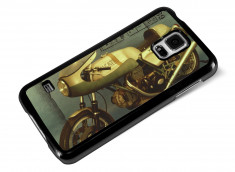 Coque Samsung Galaxy S5 Vintage Case -Old Bike