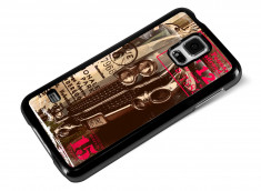 Coque Samsung Galaxy S5 Vintage Case -Old Car