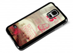 Coque Samsung Galaxy S5 Vintage Case -Paris Brume