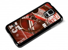 Coque Samsung Galaxy S5 Vintage Case -Red Car